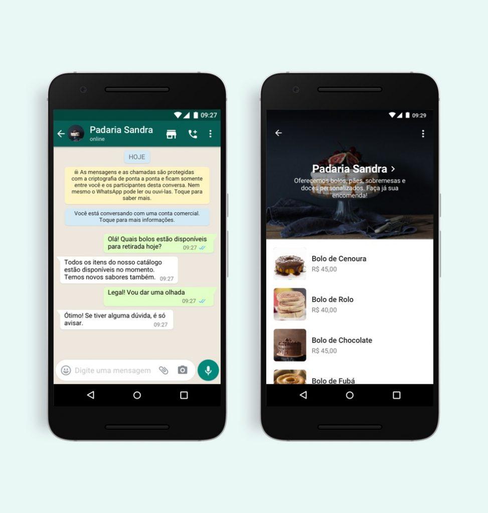 Como Funciona O Novo Botao De Compras Do Whatsapp Varejo S A